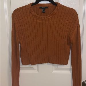 F21 Cropped Sweater